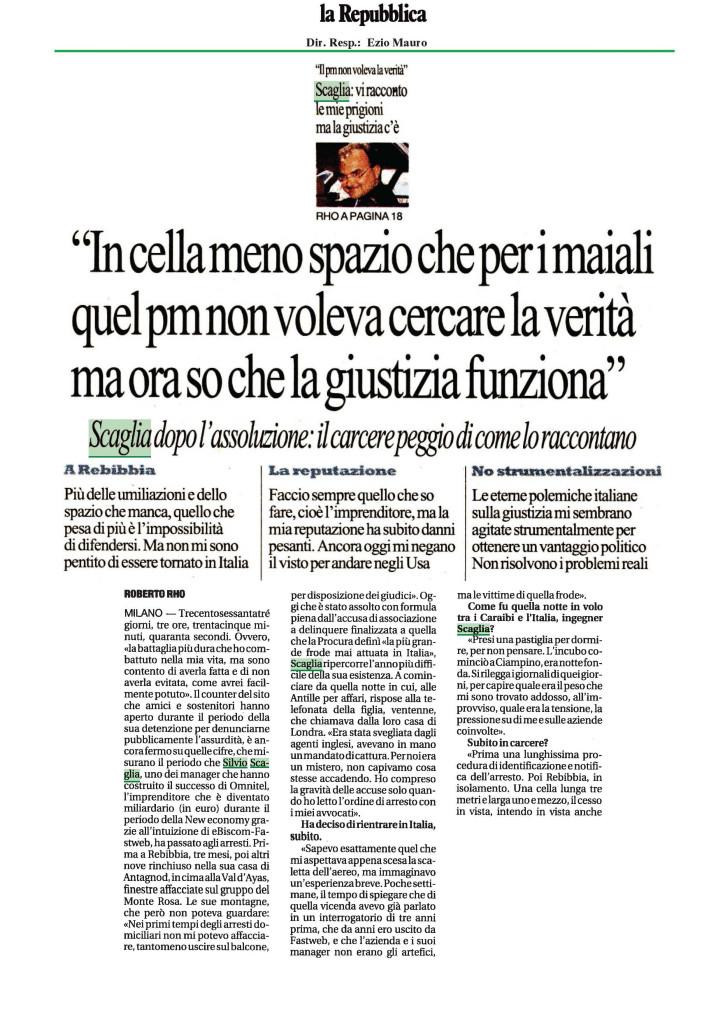La Repubblica 19-10-2013